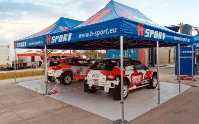 Gazebo KongLine modello racing Rally
