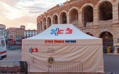 Il Gazebo Rescue scelto dalla Croce Bianca di Verona