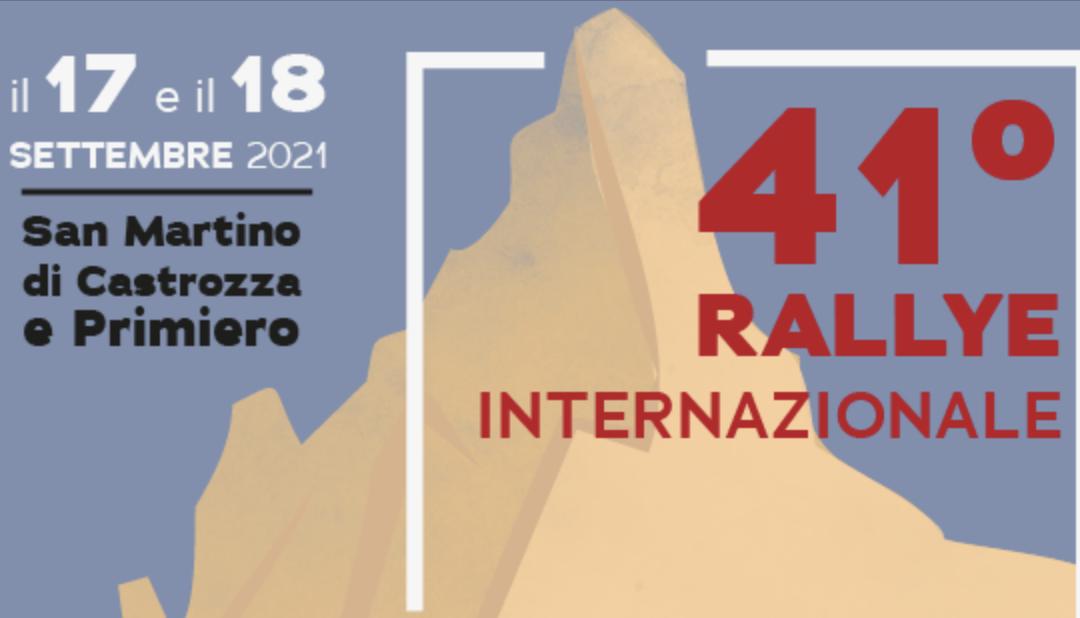 Kongline e il Rallye San Martino di Castrozza